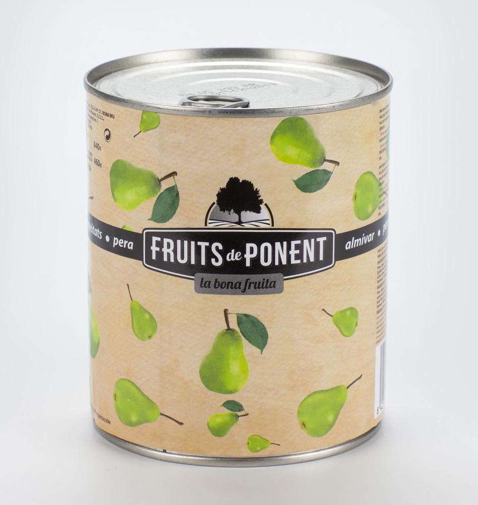 Conserva de Pera - Fruits de Ponent