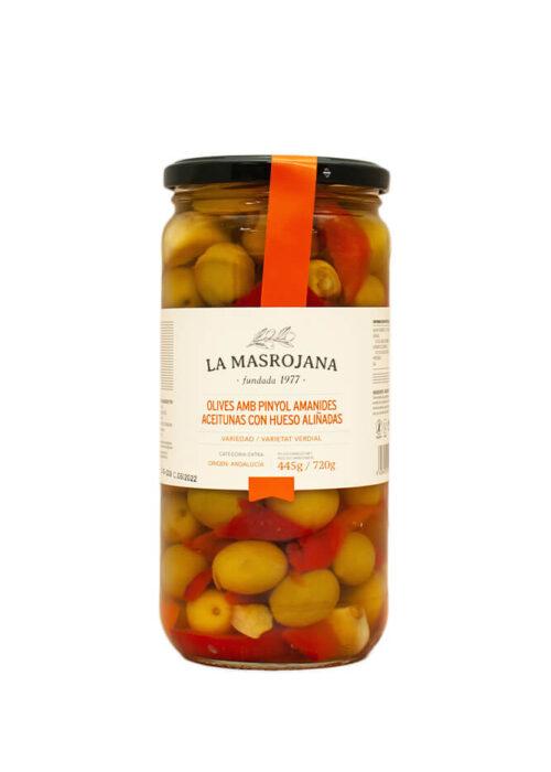 La Masrojana - Olives amb pinyol